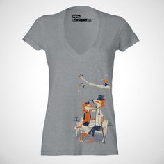 Nighttime Nuzzle V-Neck Women's now featured on Fab.