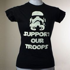 252a14b4a Support Our Troops Tshirt Black by LovesickRobotStudios on Etsy - StyleSays