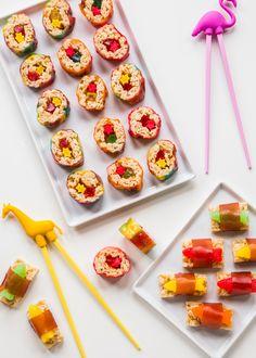 Marshmallow Treat Sushi with Campfire® Marshmallows from Jelly Toast Blog