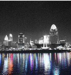 Cincinnati, Ohio - August 30th, 2013 - to visit my love