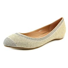 GG Shoes Odera Women Pointed Toe Canvas Nude Flats -- Find out more about the great product at the image link.
