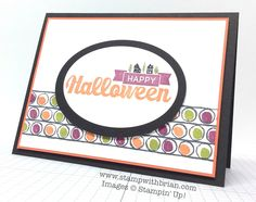 Halloween Street, Draw the Line, Stampin' Up!, Brian King, FMS155