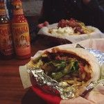Trying out a great burrito bar in town with @amyrebair  / 179 days ago around 1PM on Fri Sep 19 13:16:19 2014 © http://instagram.com/p/tIpf_yzATM/