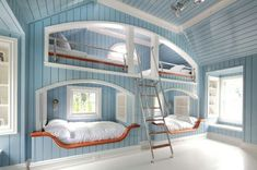 beach themed bedroom - LOVE this idea for Guest quarters in my Florida dream home.