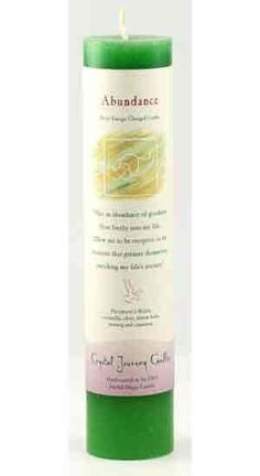 (http://www.theancientsage.com/candles-and-candle-accessories/abundance-reiki-charged-pillar-candle/)