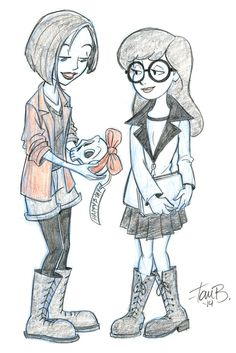 Daria and Jane by tombancroft on DeviantArt