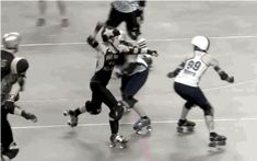 You Should Be Watching More Roller Derby Footage