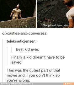 I like this kid