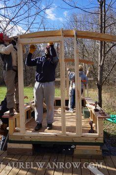 61 best construction of a gypsy caravan tiny house camping rh pinterest com