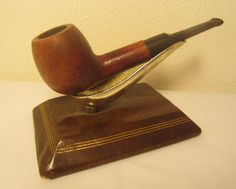 Vintage Dr. Charles Straight Apple Style Estate Briar Tobacco Smoking Pipe Italy