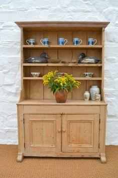 Small Mid 19thc Irish Pine Dresser Antiques Atlas