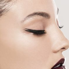 For ultra defined lining try Double Wear Zero-Smudge Liquid Eyeliner.