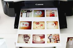 Finding nana gives a tutorial for printing Instagram photos