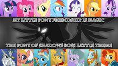 [MLP FiM] The Pony of Shadows Boss Battle Theme by DashieMLPFiM.deviantart.com on @DeviantArt