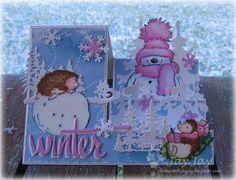 ~* Jay Jays kreative Welt *~: Winterspaß mit Penny Black