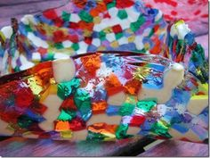 melted beads bowl