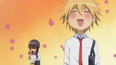 Anime/manga: Maid Sama Characters: Misaki and Takumi