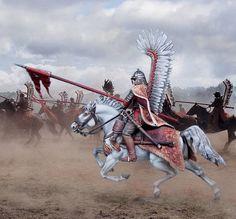 Husaria Medieval, Polish Tattoos, Art Of Fighting, Horse Facts, Knights Templar, Modern Warfare, Military History, Renaissance, Chivalry