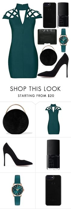 """""""dinner date"""" by j-n-a ❤ liked on Polyvore featuring Eddie Borgo, Rare London, Gianvito Rossi, NARS Cosmetics, Henry London, DateNight, dinnerdate and polyvoreeditorial"""