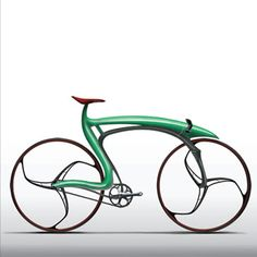 Futuristic bike reminds me of an old comic strip: Heckle and Jeckle, the talking magpies.