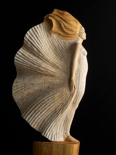 Scirocco, Skulptur von Malgorzata Chodakowska