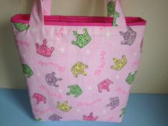 Little Princess Easter Basket Alternative by HugsandHolidays on etsy.