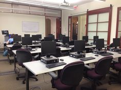 First Floor Instruction Classroom (Open when not in use for instruction)