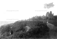 Photo of Southend On Sea, On The Cliffs 1891 Local History, History Pics, London Places, Old London, Old Photos, Past, Sea, Shots, Vintage