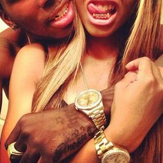 Read the d thug love story Dope Couples, Swag Couples, Black Couples, Cute Relationships, Relationship Goals, Gangsta Grillz, Afro, Gold Grill, Me And Bae