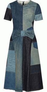 The Essential Denim Dress - free sewing pattern
