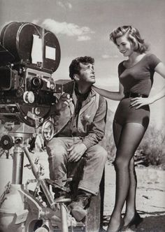 Dean Martin and Angie Dickinson