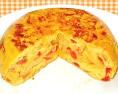 Tortilla española de patatas con chorizo