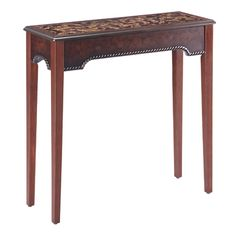 "Find it at <a href=""http://www.bombaycompany.com/"" target=""_blank"">bombaycompany.com</a>  - Valencia Hall Table"