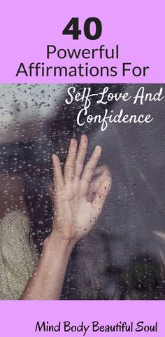 40 Powerful Affirmations For Self-Love and Confidence. I remember the old me used to struggle with self-love and confidence back in the day. Affirmations are a great tool to build self-love and confidence. Such a powerful life-changing tool! Affirmations For Women, Positive Affirmations, Positive Inspiration, Sharing Quotes, Affirmation Quotes, Positive Attitude, Self Confidence, Life Changing, Spiritual Quotes