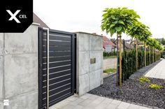 Nowoczesne ogrodzenie aluminiowe Arete Horizon - zdjęcie od XCEL Ogrodzenia