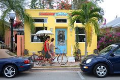 Stuart, Fla. -- There's plenty of charm in old downtown Stuart, like the Coffee Bar Blue Door located at 38 SE Osceola St.