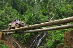 Amazing Offroad Challenge In Malaysia. |