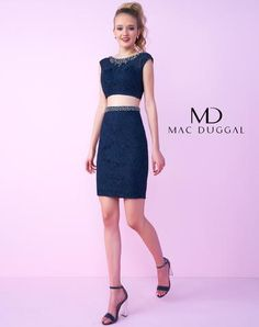Mac Duggal 67646N Short Dress ~LOWEST PRICE GUARANTEE~NEW Authentic