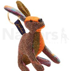 Joules Tweedle Keyring Hare