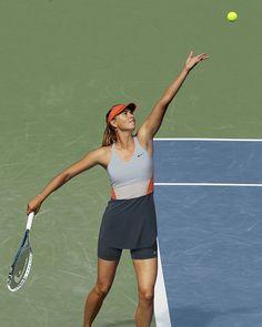 Maria Sharapova US Open 2014 Day