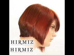 GRADUATED BOB using the Hirmiz Level Cutting Comb - YouTube