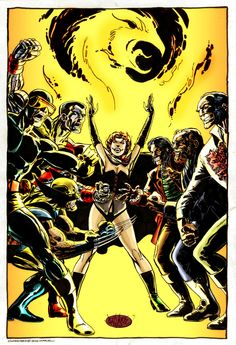 X-Men vs Hellfire Club by John Byrne I love the old Hellfire Club stories from the 80's.