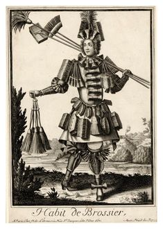 Tradesman & Peddler Caricatures by Nicolas de l'Armessin II