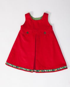 CHRISTMAS 'Signature Pinafore' Dress - £65 by Rebecca Willis on Folksy #handmade #SmallBizSatUK Handmade Christmas Gifts, Christmas Gift Guide, Small Business Saturday, Pinafore Dress, Gifts For Kids, Summer Dresses, Sewing, Clothes, Tops