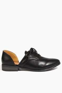 Cut It Out Oxford Shoes