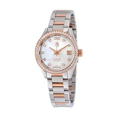 Tag Heuer Carrera Mother of Pearl Dial Mens Watch WAR2453BD0777 *** Be sure to check out this awesome product. (This is an affiliate link and I receive a commission for the sales)