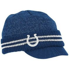 best website 078a5 70371 Reebok Indianapolis Colts Sideline Player 2nd Season Visor Knit Hat One Size  Fits All by Reebok. Save 40 Off!.  11.97. Made in Taiwan. Knit hat with  visor.