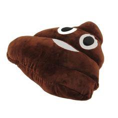 1 Pc Cute Funny Emoji Poo Forma Boneca de Brinquedo Almofada Travesseiro Sofá Cama Cadeira Ao Ar Livre Decoração de Natal Presente de Aniversário Em Casa