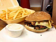 'Fired up' double cajun chicken burger, Tinseltown http://iwilleatlondon.blogspot.co.uk/2013/11/fired-up-double-cajun-chicken-burger.html