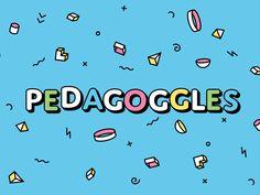 Brain Suds: Pedagoggles! by Daniel Haire #Design Popular #Dribbble #shots